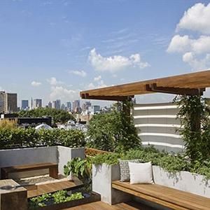 私人别墅屋顶花园定制